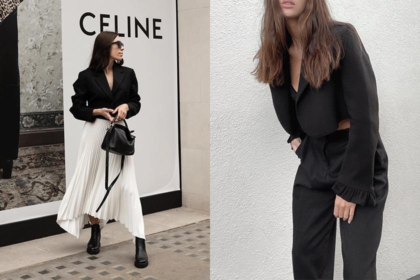 cropped blazer fashion trend 2020 fw