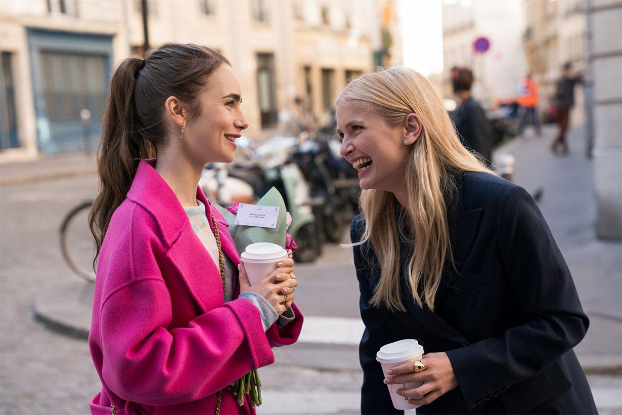 Camille Razat in Emily in Paris