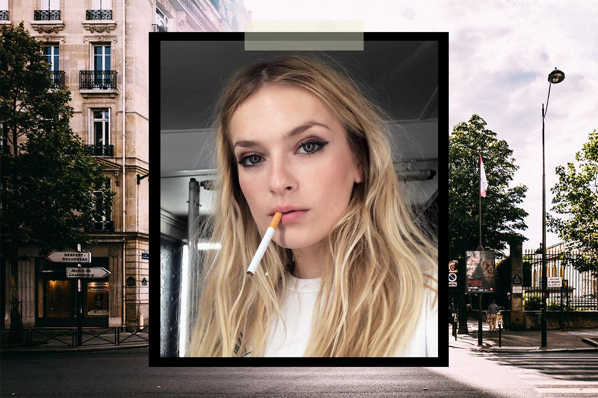 Emily in Paris Netflix Lily Collins Lucas Bravo Philippine Leroy-Beaulieu  Camille Razat French Woman Smoking Problem Coco Chanel