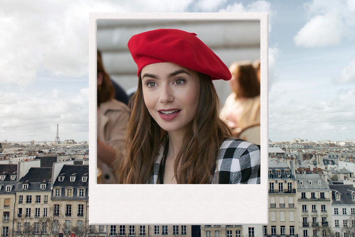 Emily in Paris Netflix Lily Collins Sex and the City The Devil Wears Prada Philippine Leroy-Beaulieu  Ashley Park  Camille Razat  Lucas Bravo Office survival law
