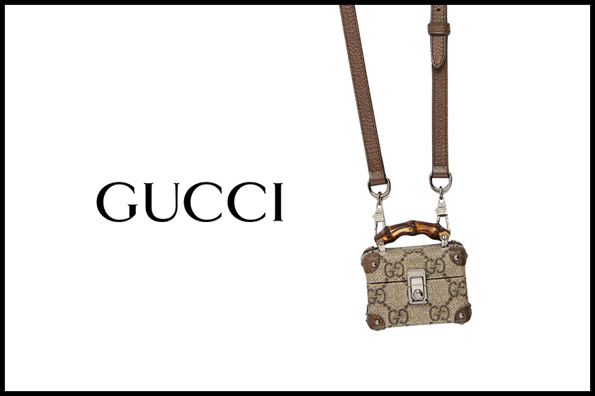 gucci airpods trunk case accessories