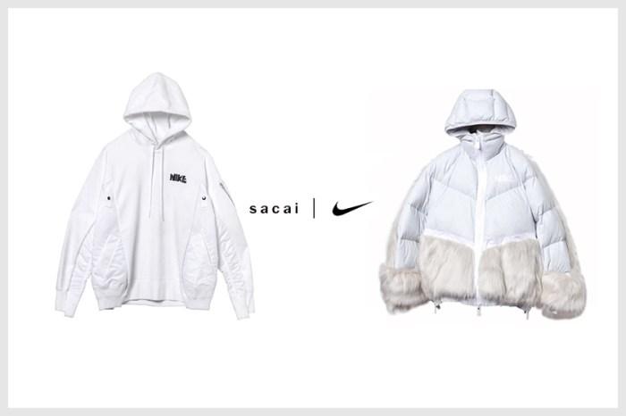 絕美羽絨衣後:Sacai x Nike 聯乘品項公開,其中連帽衫成焦點!