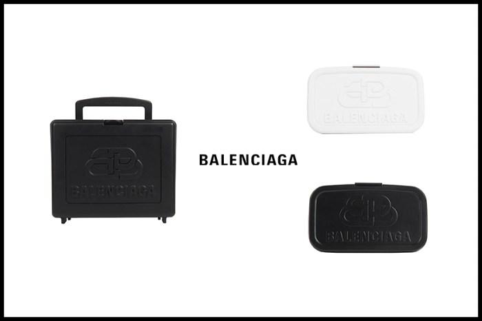 Balenciaga 推出全新手袋,竟然是印有 BB Logo 的極簡便當盒!