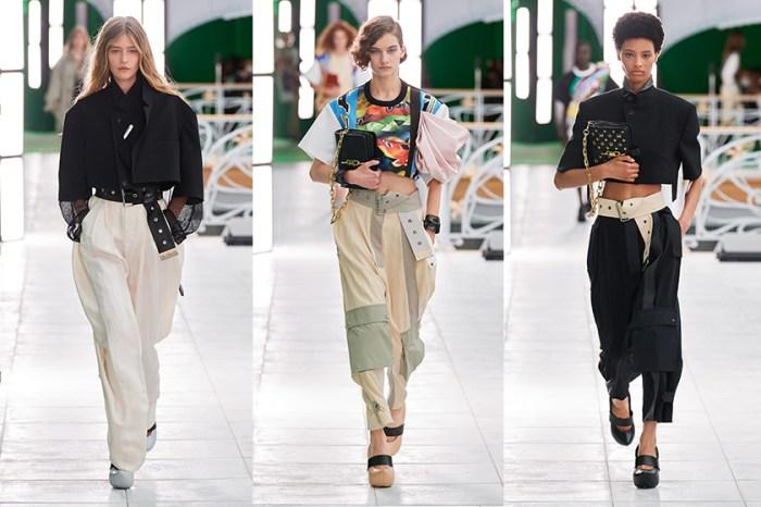#PFW:綠幕中的時光逆行,Louis Vuitton 那無畏時髦的獨立女性!