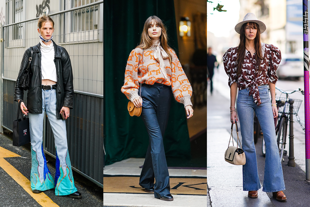 Flared Pants Street Style