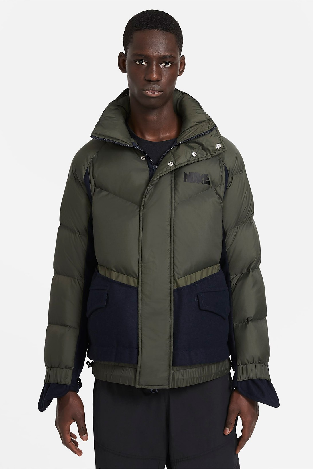 nike sacai chitose abe collaboration outerwear collection jackets puffers release date