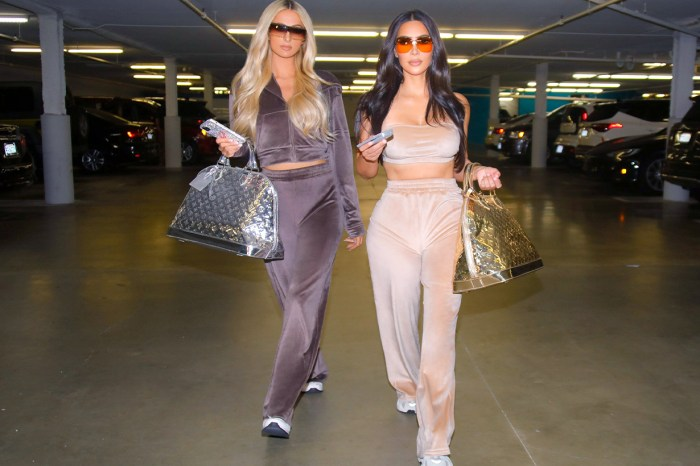 Kim Kardashian 跟 Paris Hilton 再度碰頭,誓要把這單品潮流帶回來!