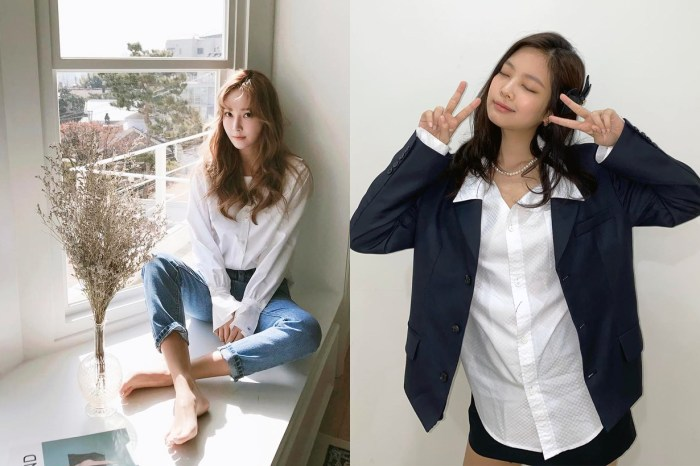同樣是白色恤衫,為什麼韓國女星們總可以穿著性感時尚味道?