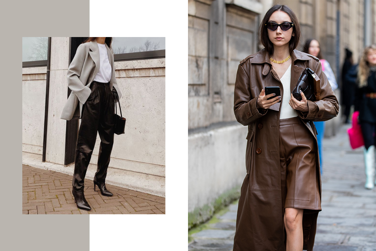 Leather Trend 2020 Fall