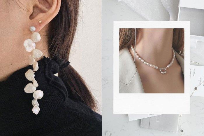 藏在細節的淡雅簡練:秋日的層次穿搭,也許只欠一件珍珠飾品!