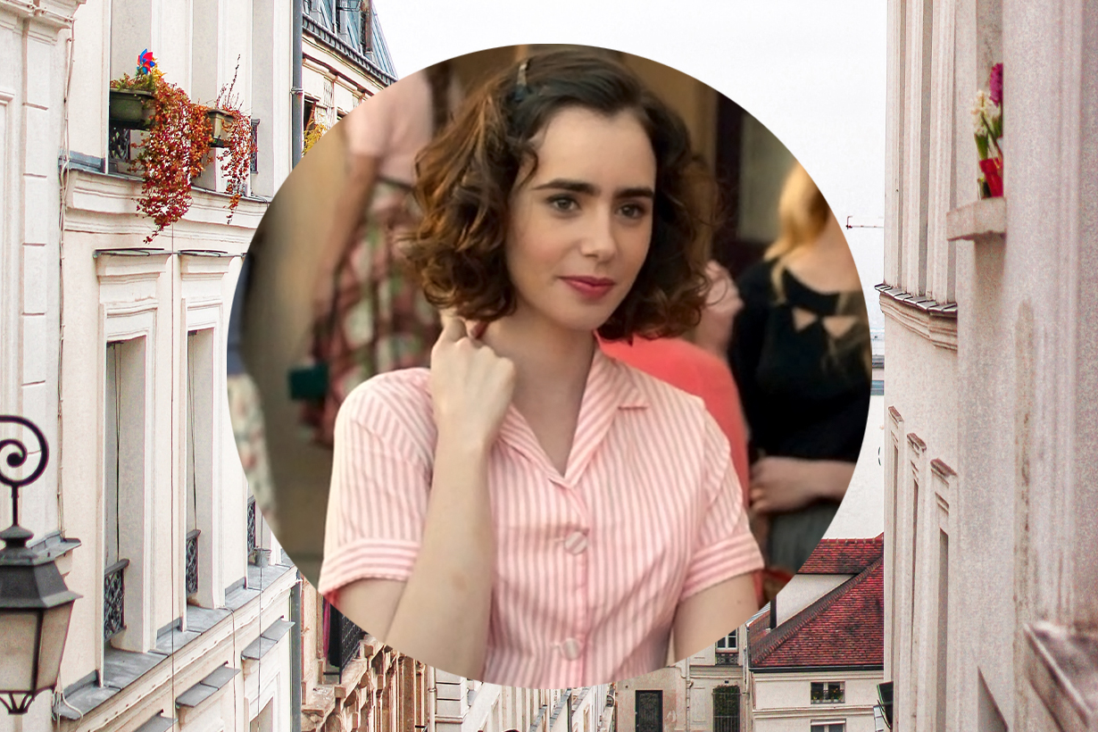 Lily Collins Emily in Paris Netflix Drama Mirror Mirror The Mortal Instruments: City of Bones Love, Rosie Rules Don't Apply To the Bone Inheritance Les Misérables Hollywood Actresses