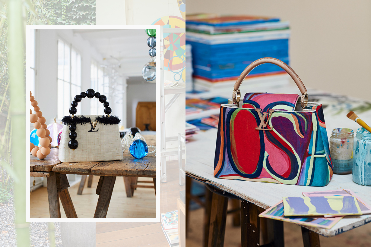 Louis Vuitton ArtyCapucines 2020
