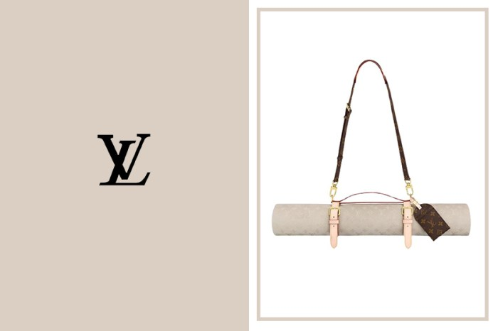 最奢侈的運動用品:Louis Vuitton 這張瑜珈墊精緻度絕對能媲美一個手袋!