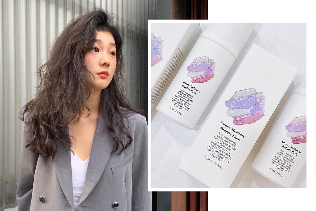 Milk Touch Glossy Moisture Bubble Pack Moisture Cream Cleansing Mask Moisturising Mask Overnight Mask Korean skincare