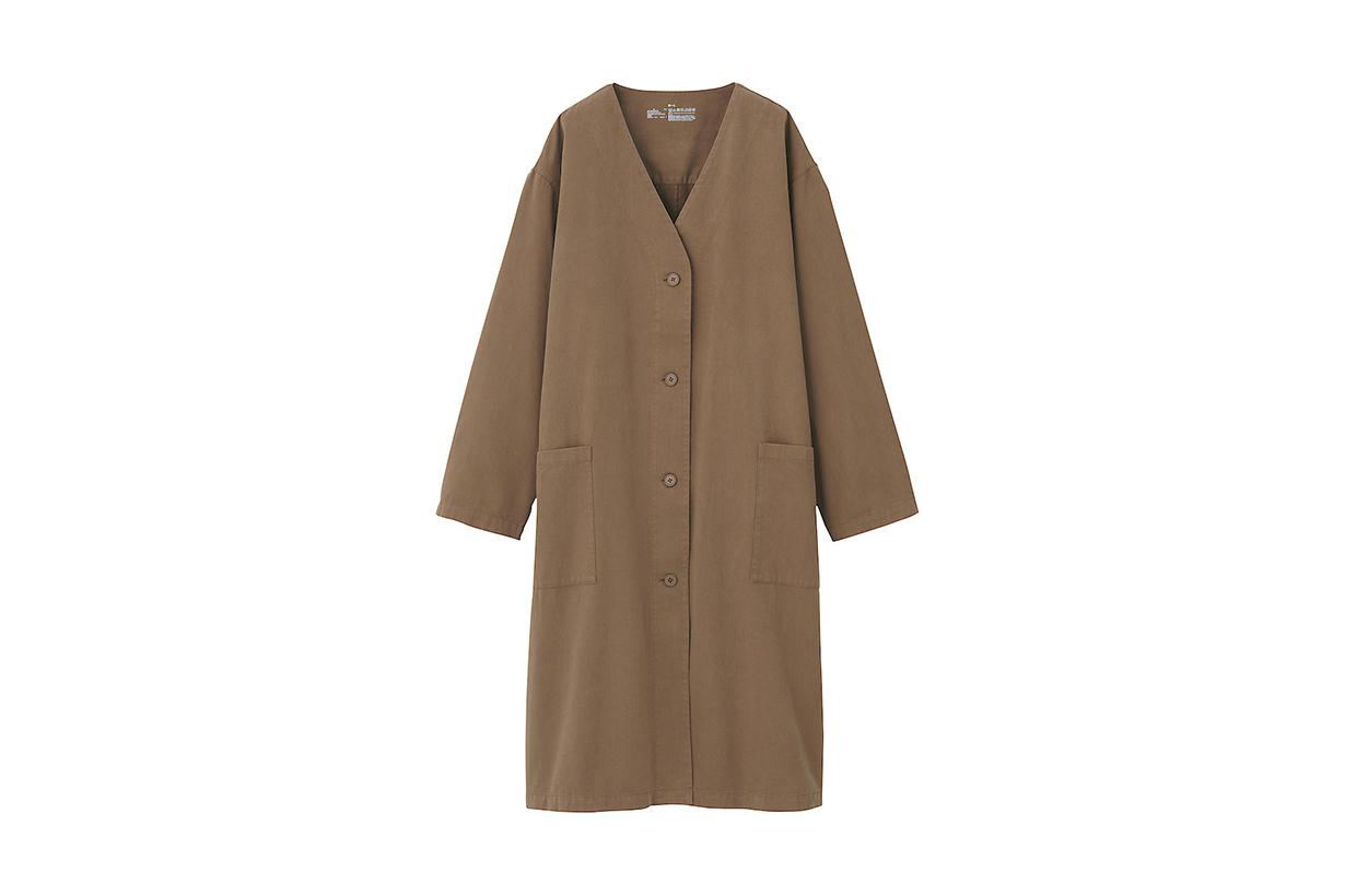 Muji Collarless Coat 2020 fw