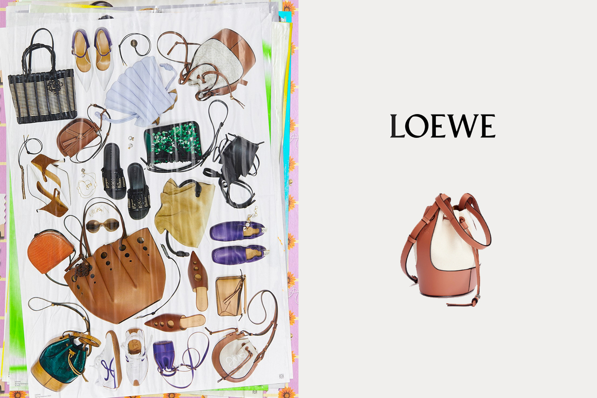 loewe SS21 balloon mini nano handbags