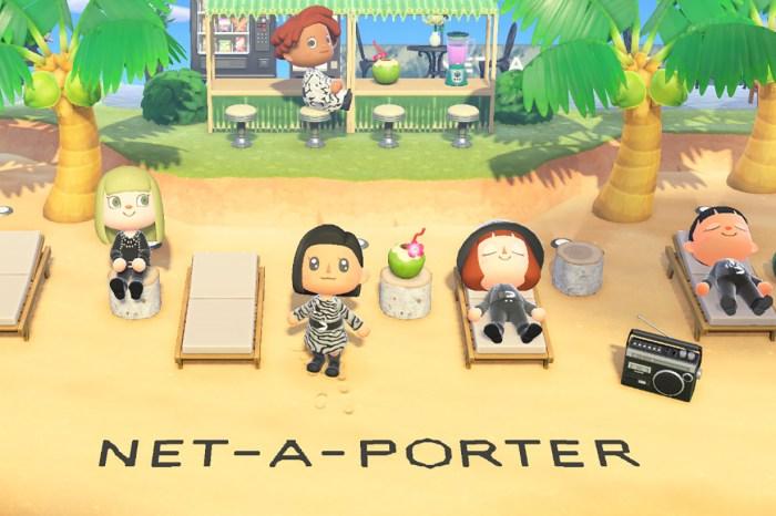 最時尚的 《集合啦!動物森友會》小島:Net-A-Porter 為你準備不同的驚喜