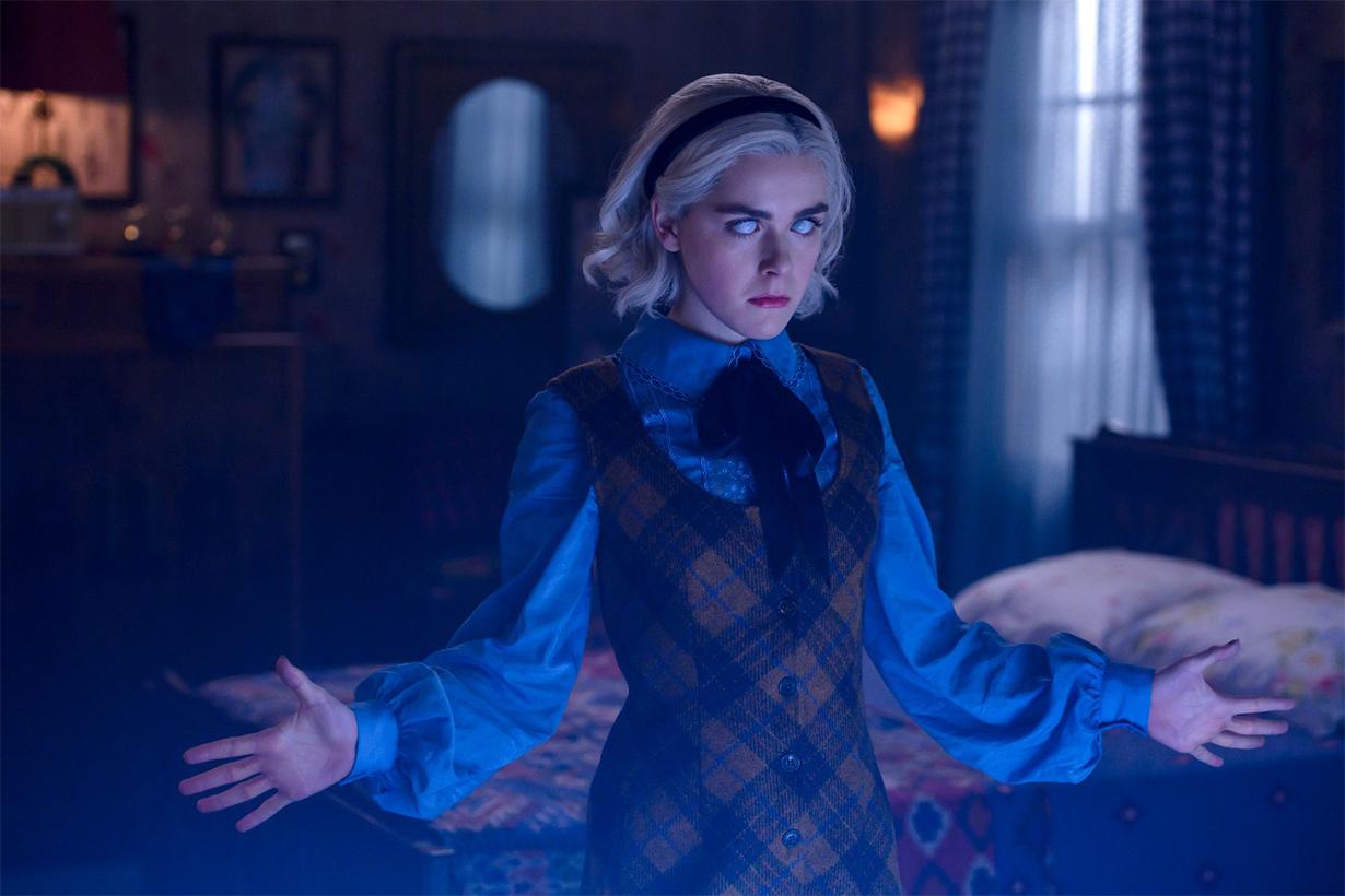 netflix chilling adventures of Sabrina season 4 trailer release date kiernan shipka