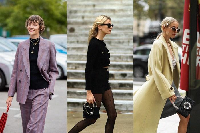 賞遍巴黎時尚街拍 10+,發現女生今季最愛的手袋是它!
