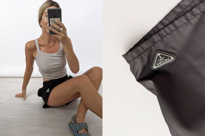 百搭又夠時髦,難怪這件 Prada 短褲能席捲歐美女生的衣櫃!