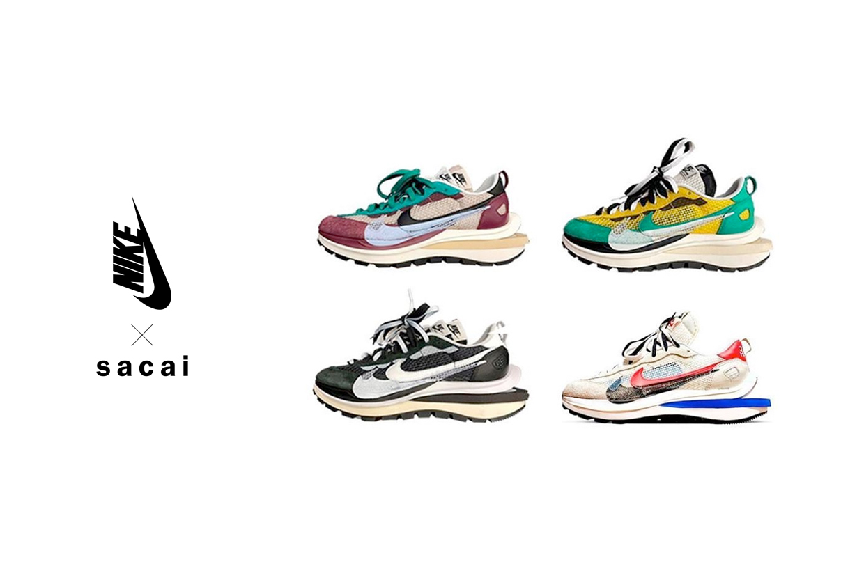 sacai nike vaporwaffle when release 2020 fall november