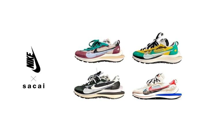 請在下個月的行事曆畫三顆星星,Sacai x Nike Vaporwaffle 要開賣了!