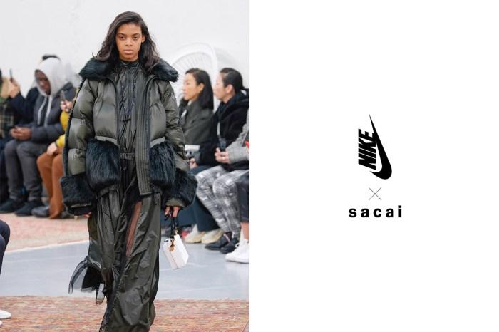 譽為本季最美的羽絨外套,Sacai x NIKELAB 終於要開賣了!