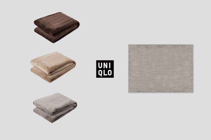 正適合微冷天氣:Uniqlo 人氣熱銷絨毛毯,屢售罄後再次上架!