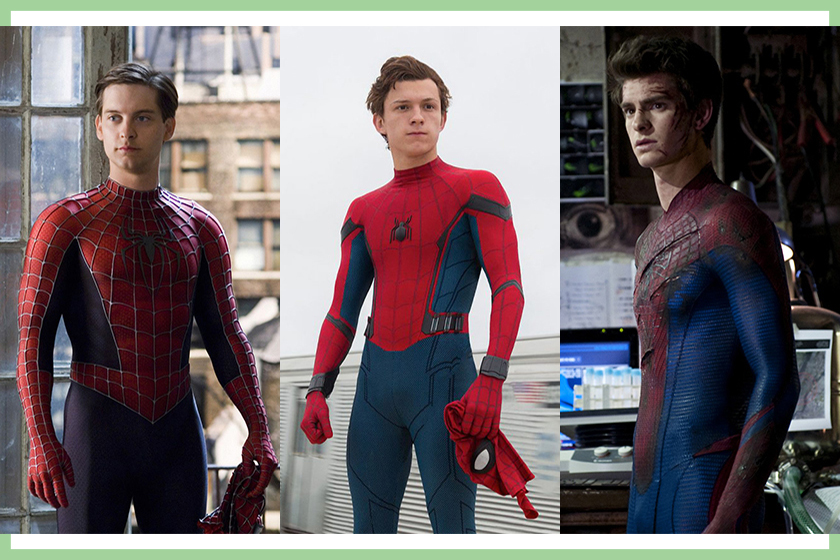 spider man marvel cinematic universe multiverse tobey maguire andrew garfield tom holland