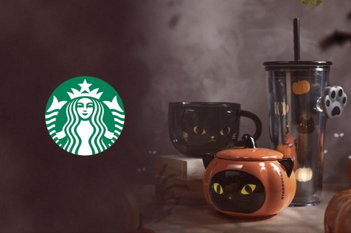 新加坡 Starbucks 推出萬聖節限定,卻讓貓奴們都發瘋的隨行杯組合!