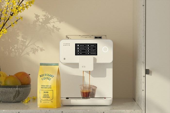 給生活帶來儀式感:顏值控一看就愛上的極簡質感設計咖啡機!