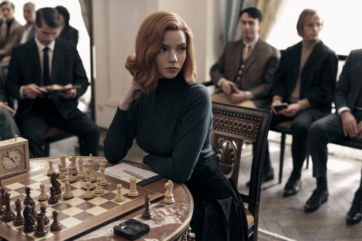 The Queen's Gambit Beauty Looks