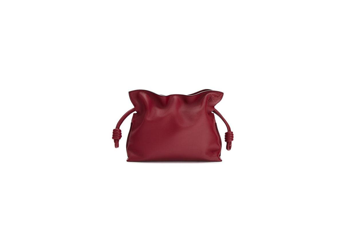 loewe mini flamenco clutch handbags 2020 fw