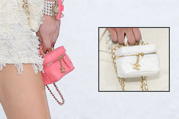#PFW:Chanel 2021 春夏亮點,Mini Vanity Case 一次 3 色攻陷心防!