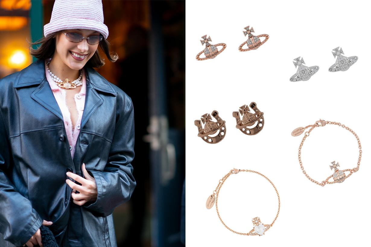 Vivienne Westwood The Orb Jewellery Trend 2000's Bella Hadid Kylie Jenner Bella Thorne Madison Beer