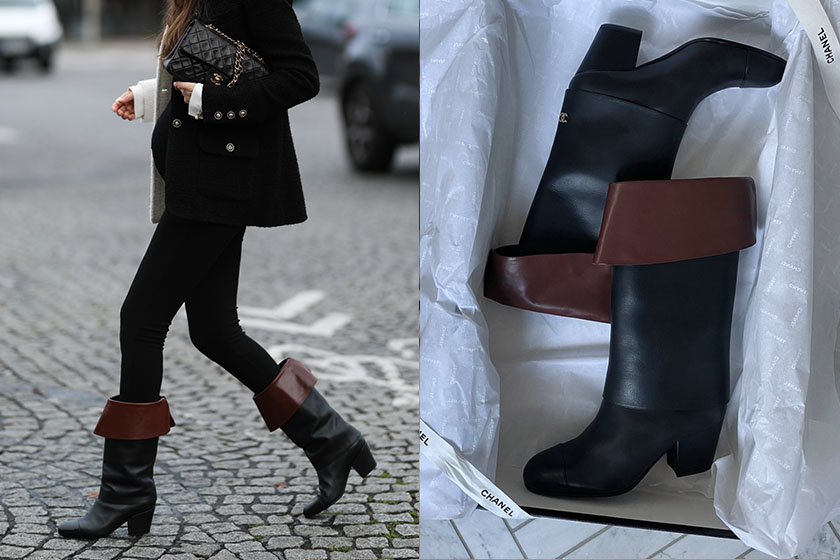 chanel boots shoes trend 2020 fall winter