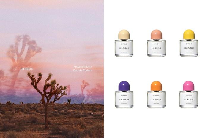 如青春綻放:Byredo 推出限定款香水,一次帶來 6 種淡色瓶蓋!