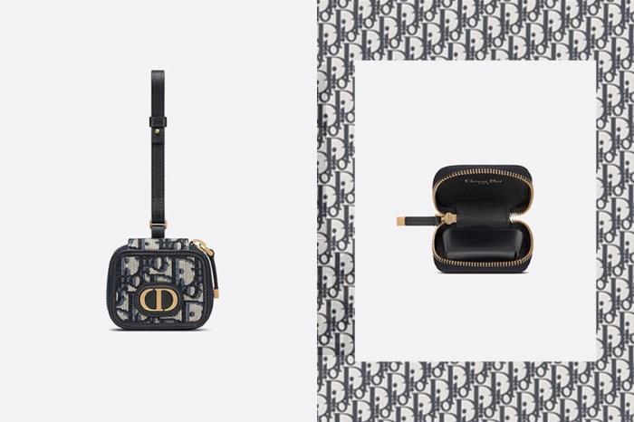 負擔得起的奢侈小物:Dior 推出復古提花 AirPods Pro 保護套,迅速引起時髦女生關注!