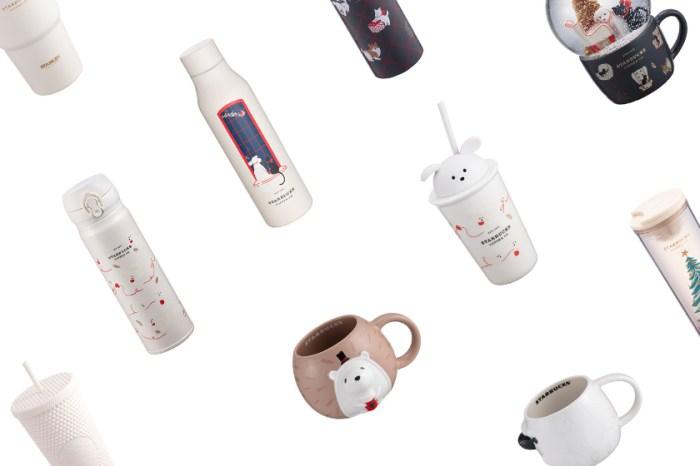 期待已久的 Starbucks 聖誕系列終於推出:立體馬克杯、Stanley 聯名、保溫瓶都太燒了!