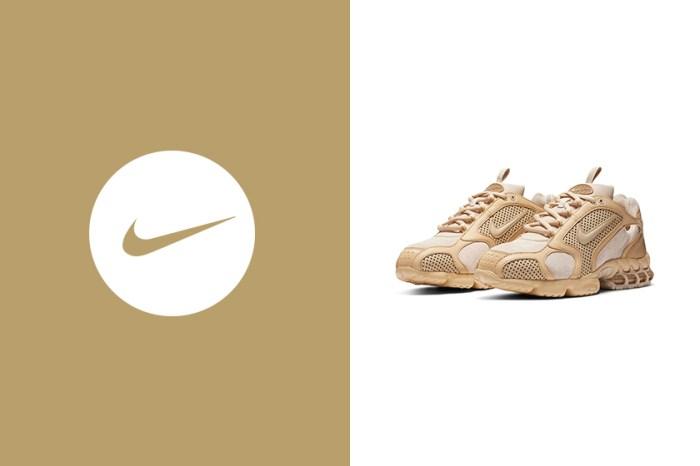 平價版 Stüssy 聯名:Nike 為人氣波鞋 Air Zoom Spiridon Cage 2 帶來質感配色!
