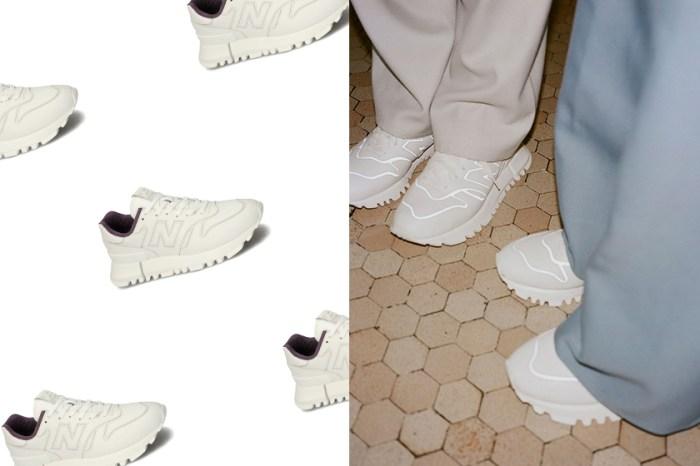 最迷人的極簡純白:這雙聯名合作的 New Balance 波鞋有什麼特別之處?