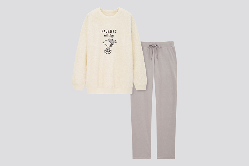 Uniqlo x Peanuts Collaboration home wear