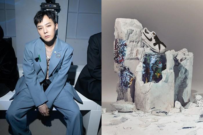 發售在即:G-Dragon 再度聯名 Nike,推出時髦女生最愛穿搭的 Air Force 1 新配色!