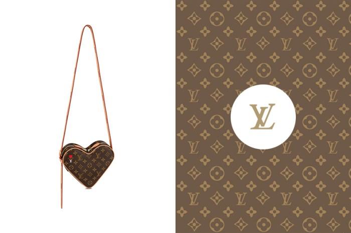 藏在 Louis Vuitton 新系列中:這款老花心型手袋已經擄獲時髦女生的心!