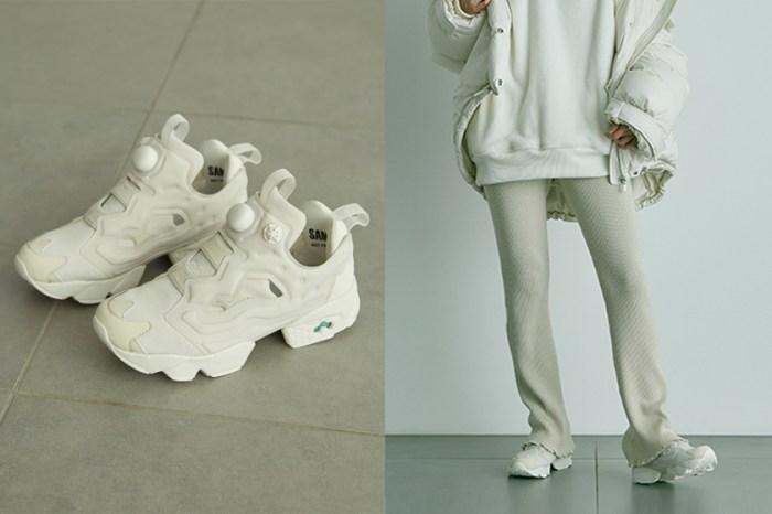 SNIDEL x Reebok 優雅聯名:絕美純白波鞋和絨毛 Hoodie 都太惹人喜愛!