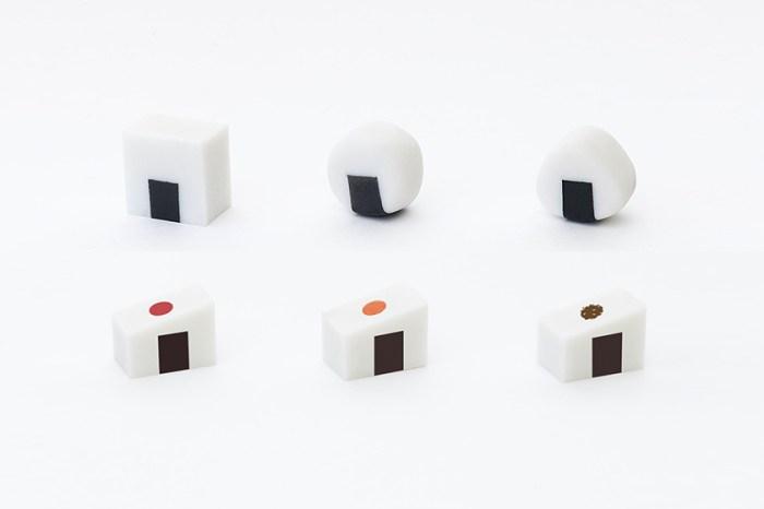 用橡皮擦捏出可愛的日式飯糰:這個別具巧思的文具設計在網上引起熱議!