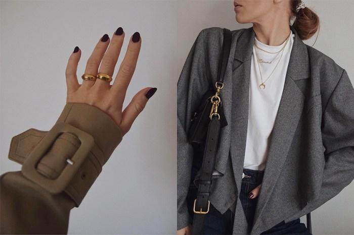 點綴迷人細節:偷師時髦博主 10+ 必入手的金色飾品,替秋冬穿搭質感加分!