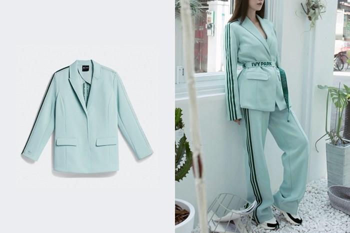 屬於時髦女生的運動套裝:adidas x IVY PARK 聯名系列,這套薄荷綠西裝被熱搜!