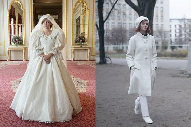 從黛妃婚紗到 Beth 的洋裝:解析藏在《后翼棄兵》《王冠》典雅服裝背後的故事!