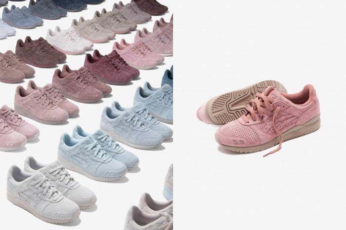 不怕找不到完美的配色,ASICS 聯名 Kith 一口氣推出 30 雙波鞋!